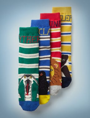 Harry Potter Socken im 4er-Pack