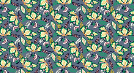 Decorative print background