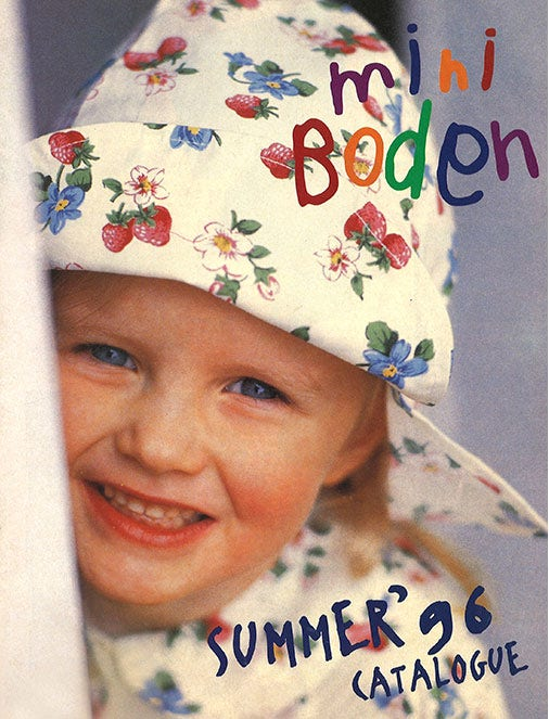 Mini Boden 1996 catalogue